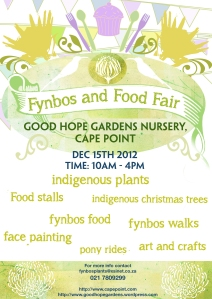 Ftnbos and Food Fair 2012 poster
