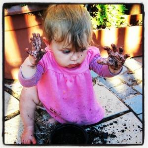 Little messy Missy