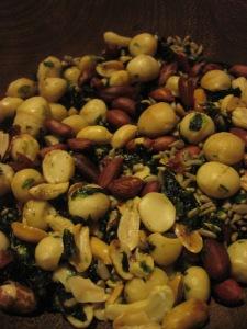 Seaweed nuts