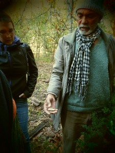 Mushroom foraging. This ones not edible!