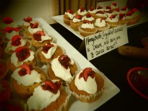 Honeybush cupcakes