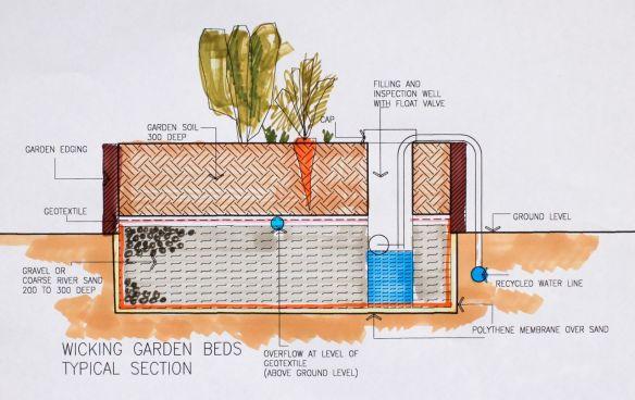 wicking bed garden plans