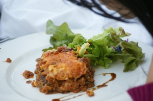 Kelp Lasagna at The Secret Garden Feast
