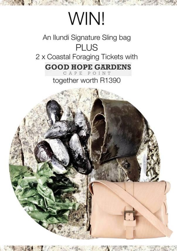 Win an Ilundi signature sling plus Coastal Foraging tickets