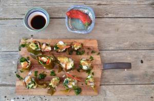 Kelp sushi rolls