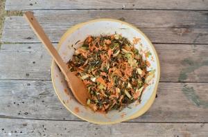 Seaweed coleslaw