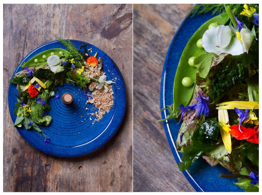 Wave inspired salad - Veld+Sea catering