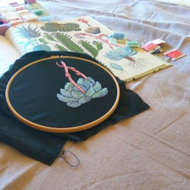Nature Inspired Embroidery Workshop